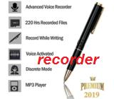 Портативный HD Запись ручка аудио Регистраторы диктофон