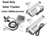 Actuator with solar controller