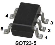 ОУ AS321 (SOT23-5)